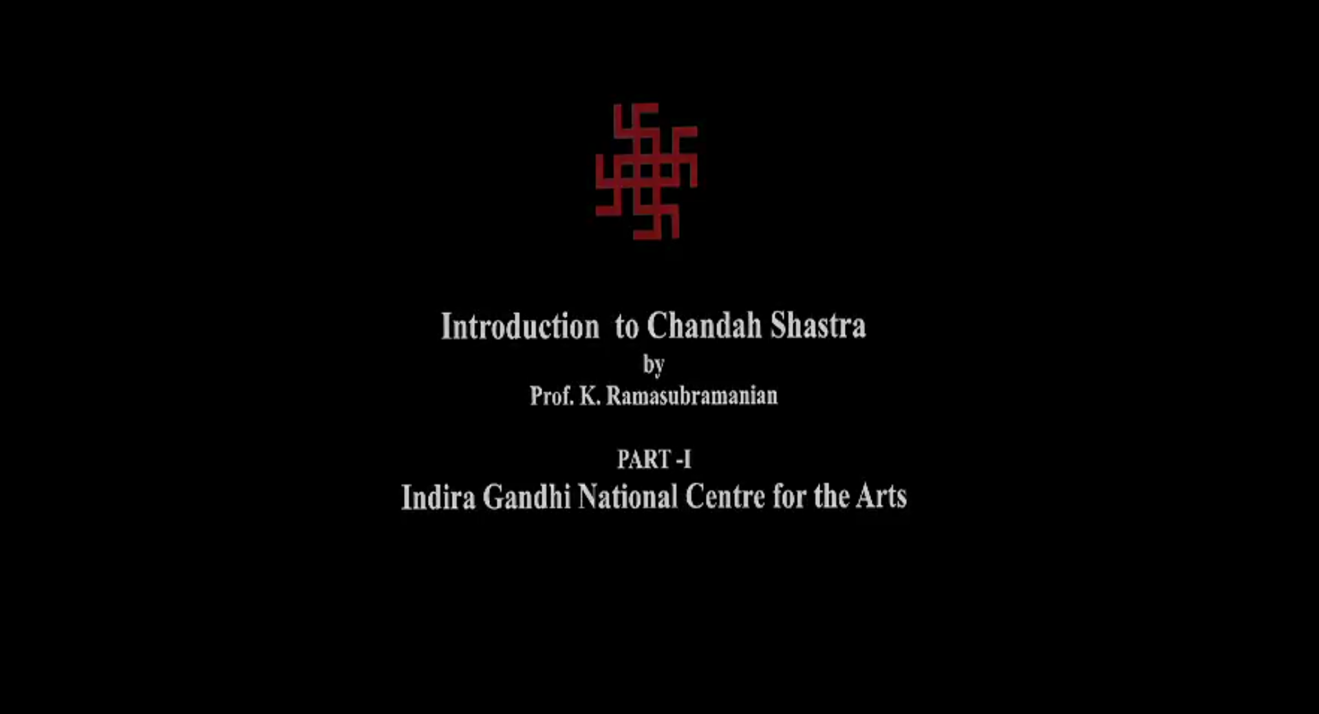 Chandshashtra (Part I)