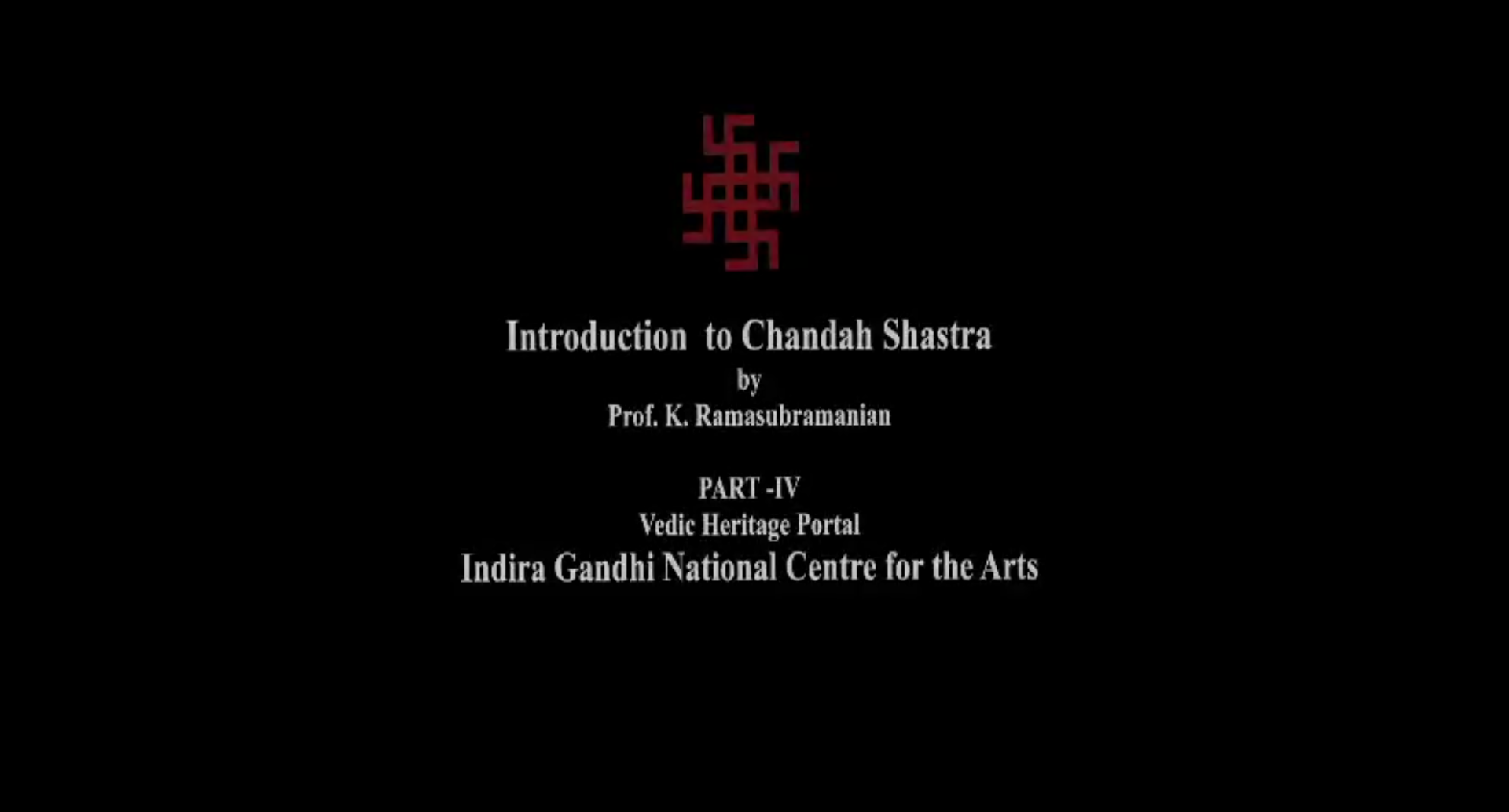 Chandshashtra (Part IV)